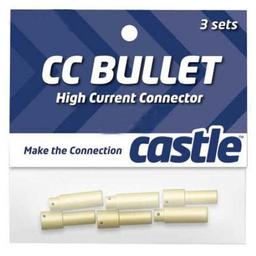 Click here to learn more about the Castle Creations 4mm  High Current CC Bullet Connector Set.