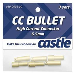 Click here to learn more about the Castle Creations 6.5mm High Current CC Bullet Connector Set.