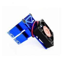Click here to learn more about the Hot Racing Clip-On Two-Piece Motor Heat Sink W/ Fan (Blue).