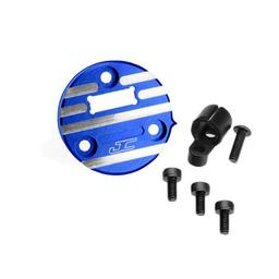 Click here to learn more about the JConcepts, Inc. Alum Timing Motor Cover, Blue:Reedy Sonic.