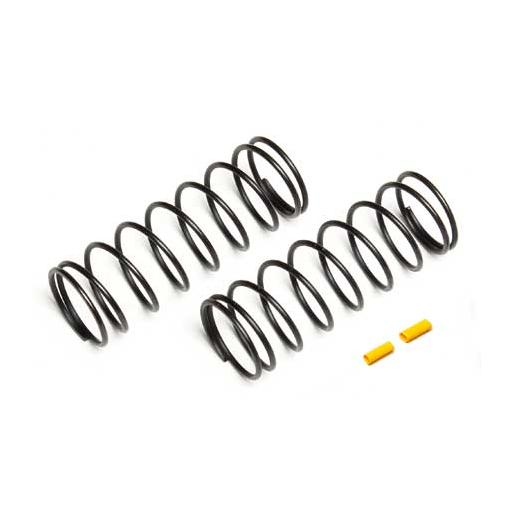 Team Associated Front Springs, yellow, 5.4 lb/in