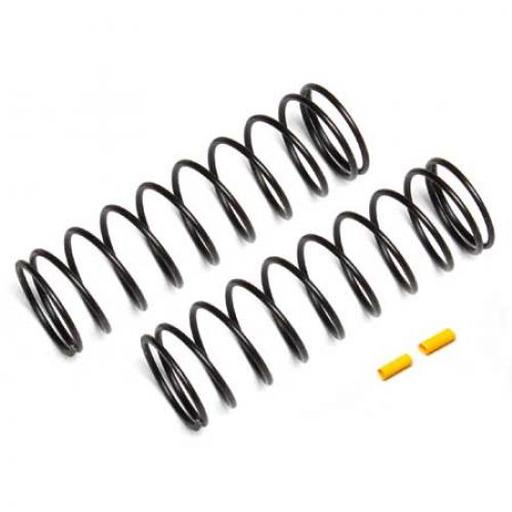 Team Associated Rear Springs, yellow, 4.6 lb/in