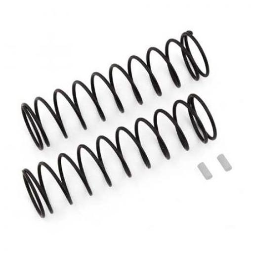 Team Associated Rear Springs V2, white, 4.1 lb/in, L86, 11.0T,1.6D