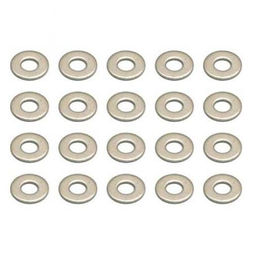 Team Associated Washers, 2.5 mm