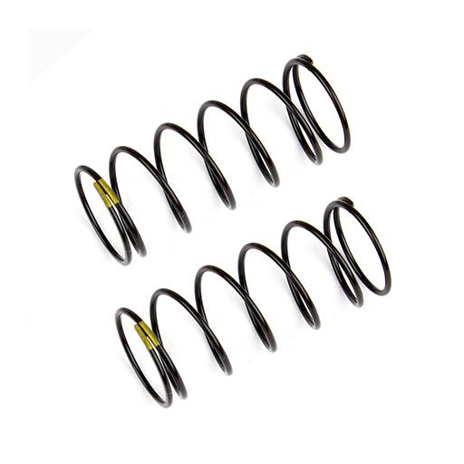 Team Associated Front Shock Springs, yellow, 4.30 lb/in, L44mm