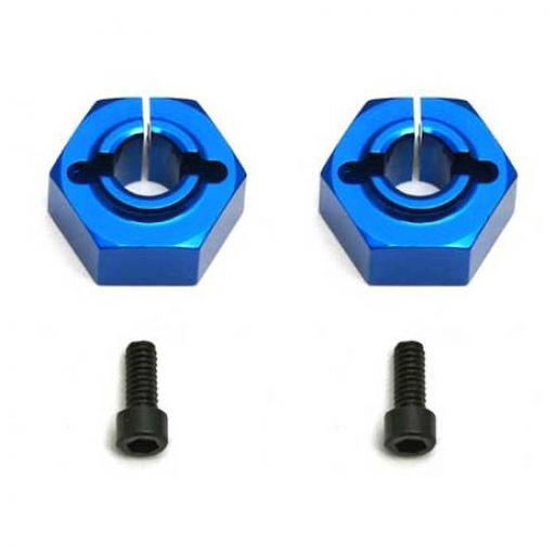 Team Associated FT 12 mm Alum. Clamping Wheel Hexes, Buggy Rear
