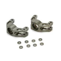 Click here to learn more about the Losi Rear Hub Set, Aluminum: DBXL.