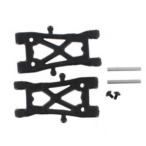 Redcat Racing Fr/Rr Low Susp Arm,Otr Hinge Pin & Screw(2):Blkout