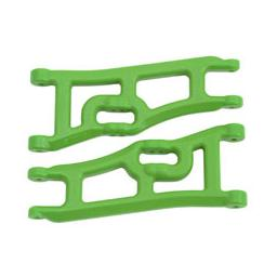 Click here to learn more about the RPM Wide Front A-arms, Green; Traxxas Rustler Stampede.