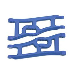 Click here to learn more about the RPM Wide Front A-arms, Blue; Traxxas Rustler Stampede.