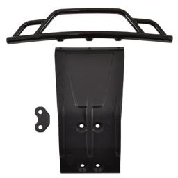 Click here to learn more about the RPM Front Bumper and Skid Plate, Black: Losi SCTE.