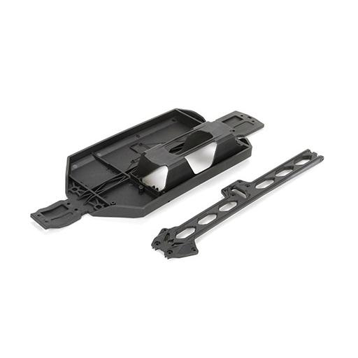 Losi Chassis and Brace: TEN MT