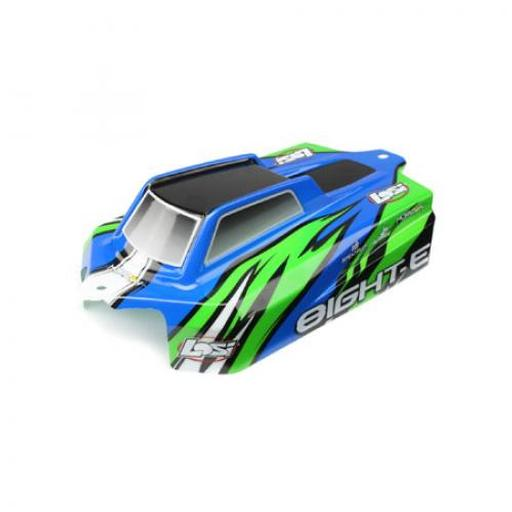 Losi Body, Cab Forward, Painted: 8IGHT-E RTR
