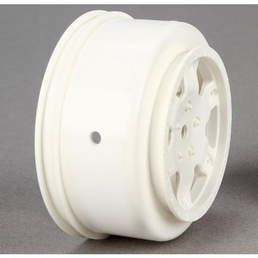 Team Losi Racing Wheel, White (2): 22SCT