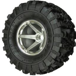 Click here to learn more about the Pit Bull Xtreme RC Rock Beast XOR 2.2 Crawler Tire KK (2), No Foam.