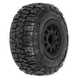 Click here to learn more about the Pro-line Racing Trencher SC 2.2,3.0 M2 Mnt Renegade Wheel,Blk:SLH.
