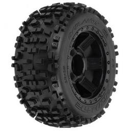 Click here to learn more about the Pro-line Racing Badlands 3.8 TRA Mnt Desperado 1/2Off 17mmWhl,Blk.