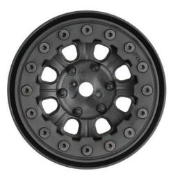 Click here to learn more about the Pro-line Racing Denali 1.9 Blk Bead-Loc 8 Spoke Fr R Wheel:Crawler.
