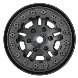 Click here to learn more about the Pro-line Racing FaultLine 1.9 Blk Bead-Loc 10 Spoke Fr R Whl:Crawl.