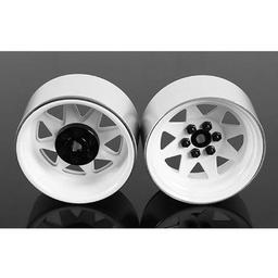 Click here to learn more about the RC4WD 6 Lug Wagon 2.2 Steel Stamped Beadlock Wheel, Wht.