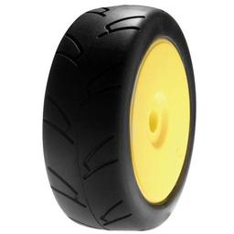 Click here to learn more about the Losi 1/8 8IGHTH Street On-road TireMntd,Yellow Wheel.