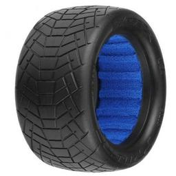 Click here to learn more about the Pro-line Racing Inversion 2.2 MC Indoor Buggy Rear Tire (2).