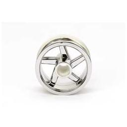 Click here to learn more about the Tamiya America, Inc T3-01 Front Wheel, Chrome Plated.