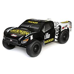 Click here to learn more about the Losi 22S Kicker SCT RTR: 1/10 2WD Short Course Truck.