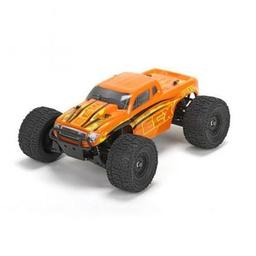 Click here to learn more about the ECX Ruckus 1/18 4WD Monster Truck: Orange/Yellow RTR.