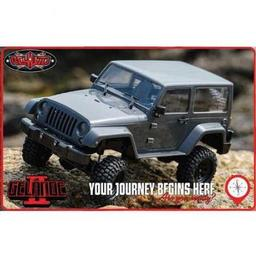 Click here to learn more about the RC4WD 1/18 Gelande II RTR w/Black Rock Body Set.