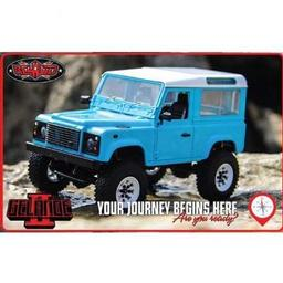 Click here to learn more about the RC4WD 1/18 Gelande II RTR w/D90 Body Set, Blue Painted.