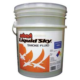 "Click here to learn more about the Robart Manufacturing Robart ""Liquid Sky"" Smoke Oil 5 Gallon Pail (1)."