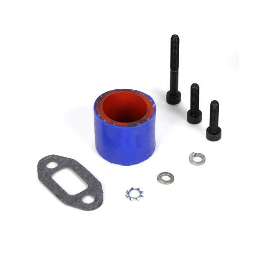 Losi Tuned Pipe Hardware Set: 5IVE-T
