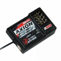 Click here to learn more about the Hitec RCD Inc. Axion 2, 2 Ch High Response, 2.4GHz Rx.
