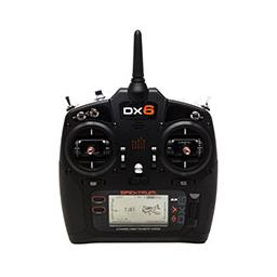 Click here to learn more about the Spektrum DX6 G3 6-CH DSMX Transmitter w/AR6600T RX MD2.