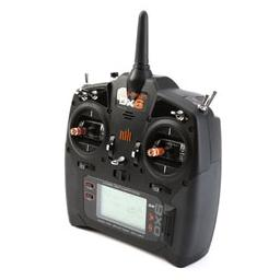 Click here to learn more about the Spektrum DX6 Transmitter Only Mode 2 G3.