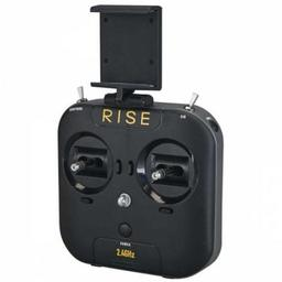 Click here to learn more about the RISE Transmitter 6-Channel Vusion 250 Race Quad.