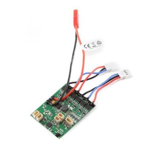 E-flite AS6410NBLT RX:DSMX 6-Ch AS3X w/Twin Brushless ESC