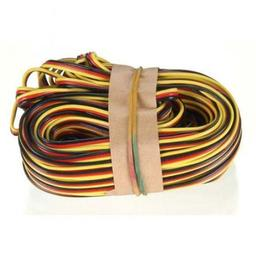 Click here to learn more about the Hitec RCD Inc. 50'' 3-Color Heavy Gauge Servo Wire.