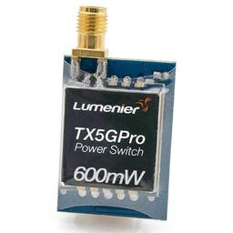 Click here to learn more about the Lumenier TX5GPro Mini 600mW 5.8GHz TX w/ Power Switch.