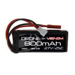 Click here to learn more about the Venom 25C 3.7V 800mAh 1S LiPo, Micro Losi & JST Plug.