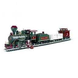 Click here to learn more about the Bachmann Industries G 4-6-0 Freight Set, Night Before Christmas.