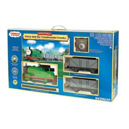 Click here to learn more about the Bachmann Industries G Percy & The Troublesome Trucks Train Set.