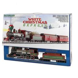 Click here to learn more about the Bachmann Industries G White Christmas Express Train Set.