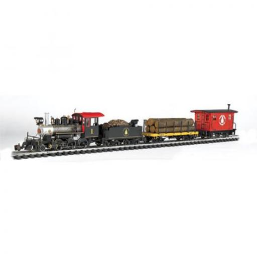 Bachmann Industries G North Woods Logger Train Set
