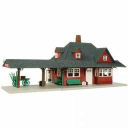 Click here to learn more about the Atlas Model Railroad HO KIT Passenger Station.