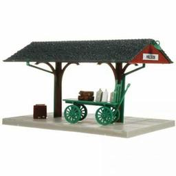 Click here to learn more about the Atlas Model Railroad HO KIT Station Platform.
