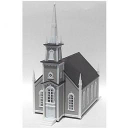 Click here to learn more about the Atlas Model Railroad HO KIT 19th Century American Church.