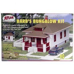 Click here to learn more about the Atlas Model Railroad HO KIT Barb''s Bungalow.