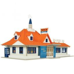 Click here to learn more about the Atlas Model Railroad HO KIT Roadside Restaurant.